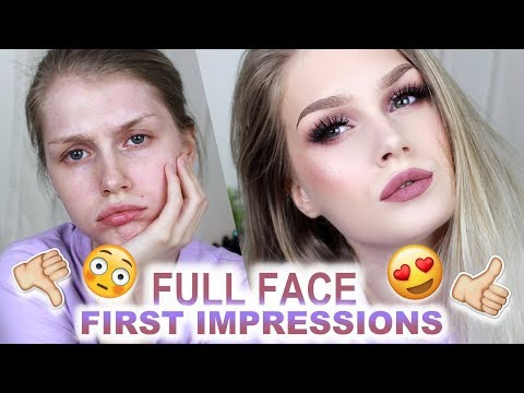 Purple Berry Glam | FULL FACE of FIRST IMPRESSIONS
