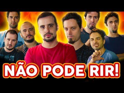 NÃO PODE RIR! - com A VOLTA DOS BARBIXAS (Anderson, Daniel, Elidio) e BRUNO MOTTA