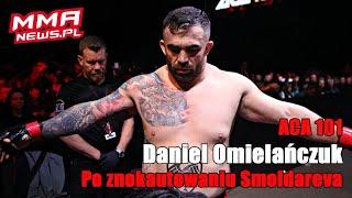 """Daniel Omielańczuk nie potrzebuje pasa ACA: """"Mogę walczyć nawet o złote kalesony"""""""