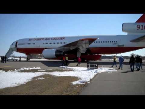 DC-10 aircraft lands at airport in Brainerd - Brainerd Dispatch MN