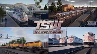 Train Sim World 2020 - Эпичные трейлеры, новый маршрут и новый режим