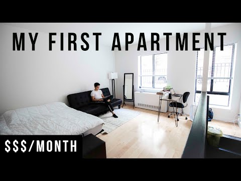 My NYC Apartment Tour 2019 | 300 Sq. Foot Studio In Manhattan thumbnail