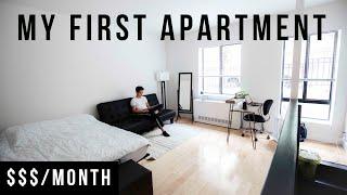 My NYC Apartment Tour 2019 | 300 Sq. Foot Studio In Manhattan
