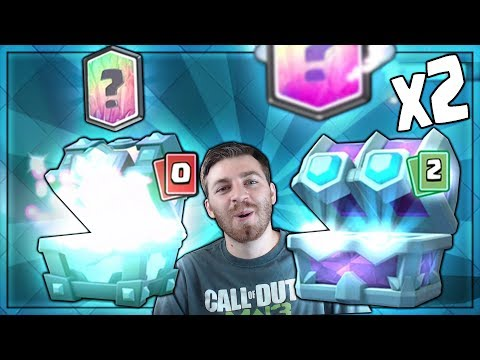 DOUBLE LEGENDARIES! x2 DRAFT CHEST & LEGENDARY CHEST OPENING! | Clash Royale | CHESTS FOR DAYS!