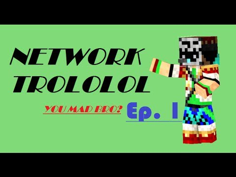 Minecraft Network Troll Ep.1 - MUDKIPZ AND GOD MODES