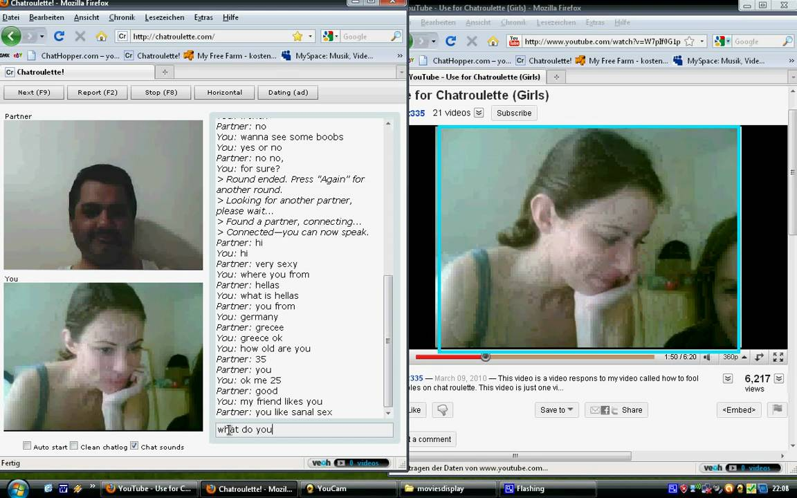 Chatroulette sex pictures