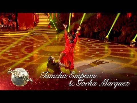 Tameka Empson & Gorka Marquez Paso to 'Y Viva Espana' - Strictly Come Dancing 2016: Week 1