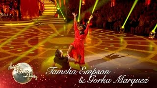Tameka Empson & Gorka Marquez Paso to 'Y Viva Espana' - Strictly Come Dancing 2016: Week 1