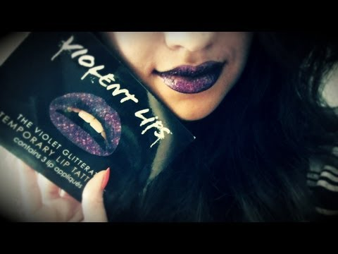 Violent Lips Temporary Lip Tattoos Review & Demo
