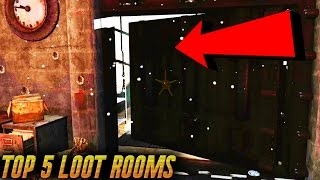 Fallout 4 Secrets - TOP 5 Best Secret Loot Rooms Locations Best Loot Areas in Fallout 4 Part 1