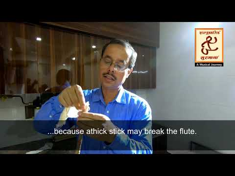 HOW TO REMOVE FUNGUS FROM BAMBOO FLUTE - EASY STEPS - PART 2