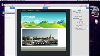 Урок 03 Создаем фото альбом в программе RapidWeaver 6 - на русском языке