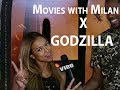 Karrueche & Dormtainment Hit The Hollywood VIP Screening of 'Godzilla'  | Movies With Milan