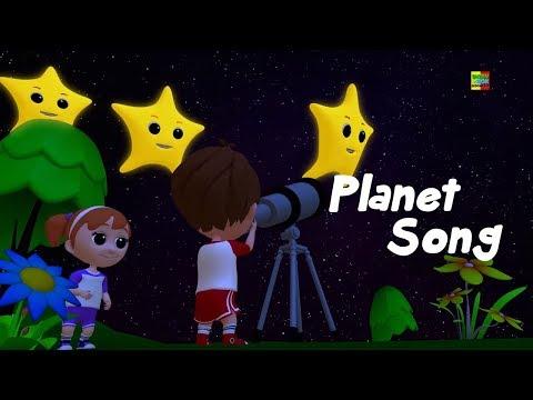 Planet Lagu | Sajak Prasekolah | Belajar Tata Surya | Learn Planets | Nursery Rhymes | Planets Song