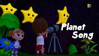 Download planet lagu | sajak prasekolah | belajar tata surya | Learn Planets | Nursery Rhymes | Planets Song