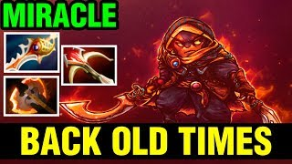 BACK OLD TIMES BUILD!! - MIRACLE EMBER SPIRIT OLD BUILD STYLE IN 7.15 - Dota 2