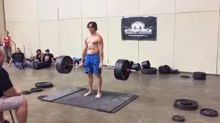 2016 Toronto Pro Supershow CAASA Strongman - 425lb Deadlift for Reps