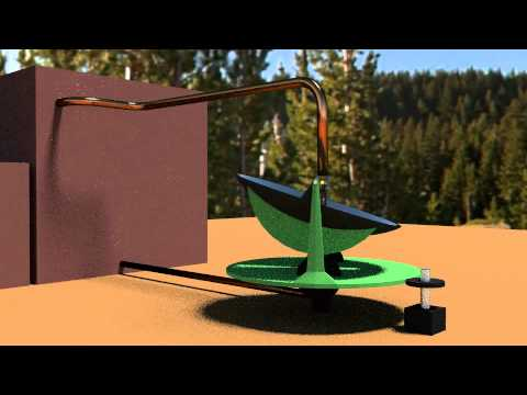 Solar Desalination, parabolic mirror design