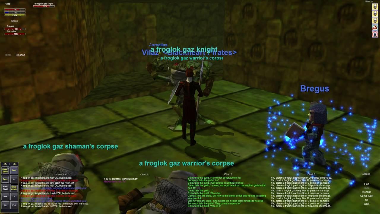 Everquest old school : Part 52 - Scryer Group - Upper Guk - Dark Elf Shadow  Knight
