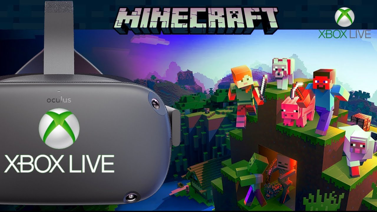 Minecraft VR Xbox Live Multiplayer on the Oculus Quest