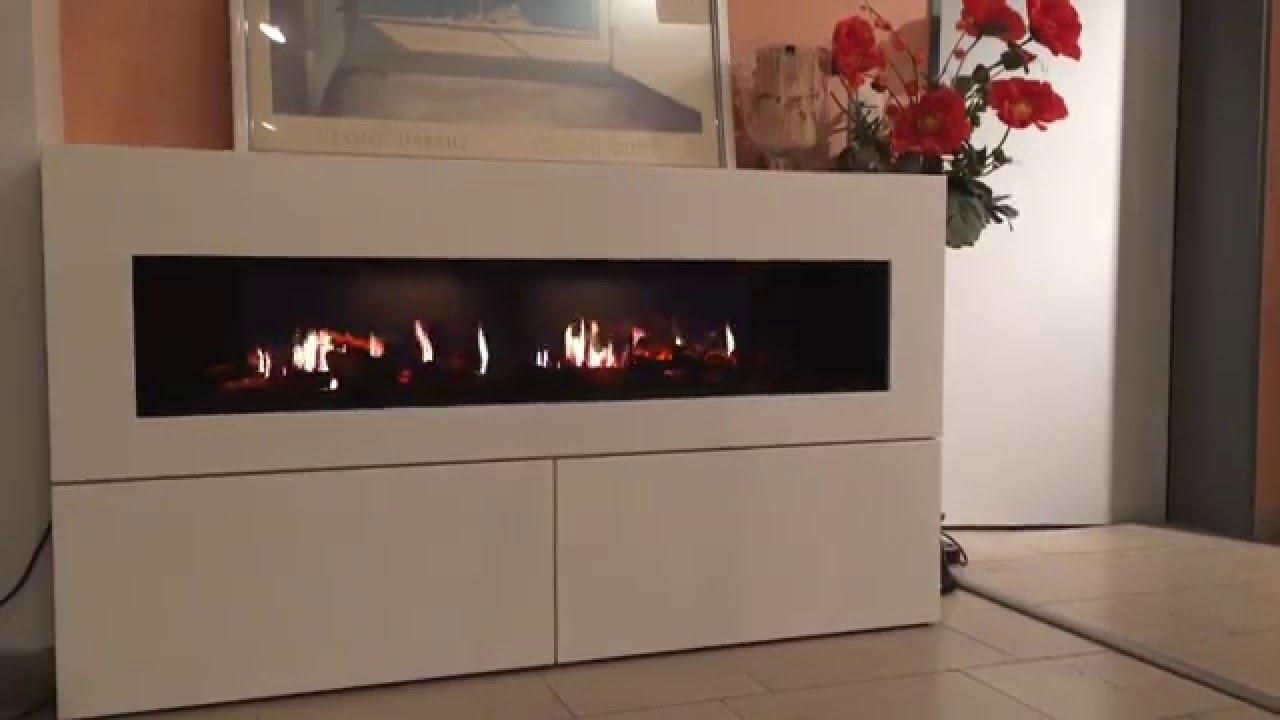 opti feuer v2 elektrokamin einsatz feuerdemo mit kamin. Black Bedroom Furniture Sets. Home Design Ideas