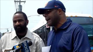 PRESS CONFERENCE: COMMUNITY ACTIVIST BLASTS THE MTA FOR UNHEALTHY BUS'S