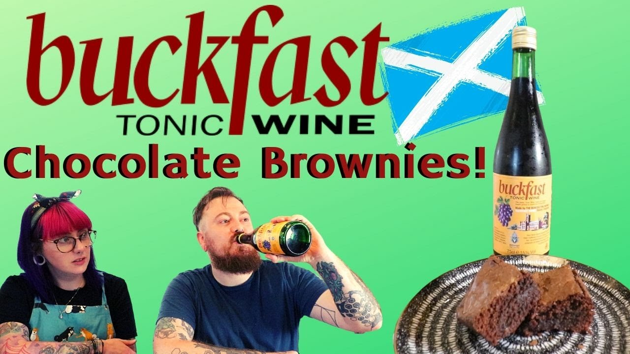 Buckfast Tonic Wine Chocolate Brownies! feat Count Dankula