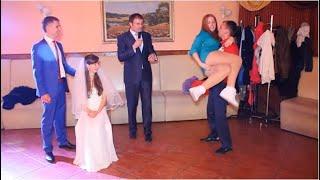 Украли туфлю на свадьбе! Свидетель без комплексов и такое может быть ;-)