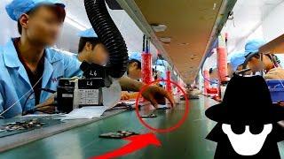 H DDEN Camera In CH NA Smartphone Factory