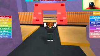 Meeting SpongeBob in ROBLOX!!!!!
