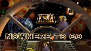 X-Wing Alliance Walkthrough [1080p] Mission 7: Nowhere to go?: Escape Imperial Attack