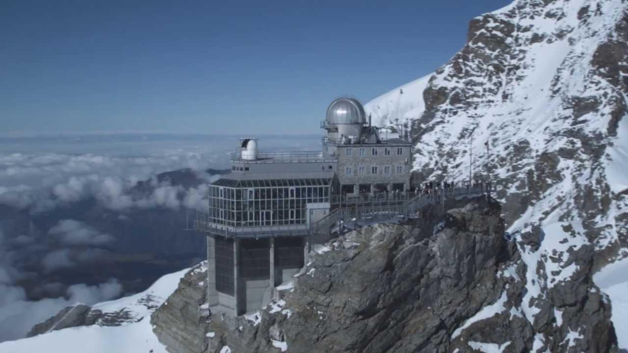La Jungfrau  Svizzera  In treno fino allo JungfrauJoch 3571 mt slm  YouTube