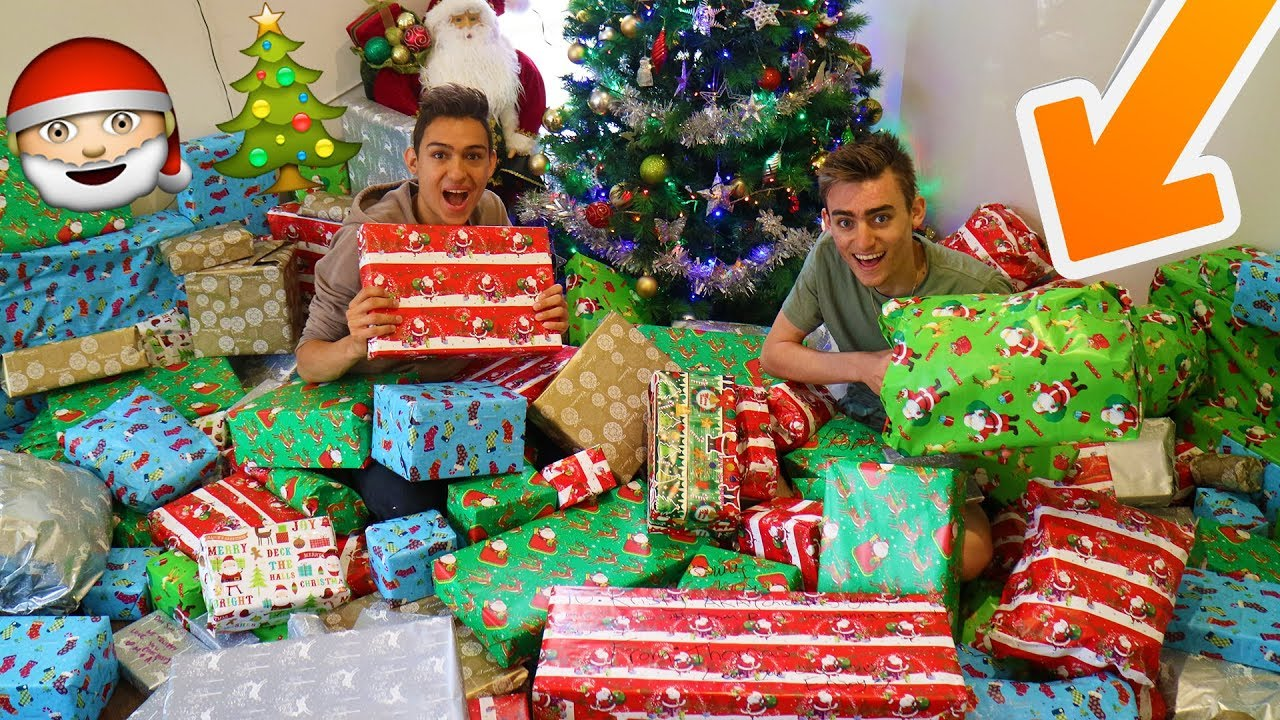 Opening Christmas Presents Early Youtube