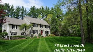 Stunning Hollis Home for Sale in Sought After Neighborhood- 78 Crestwood Drive, Hollis, NH