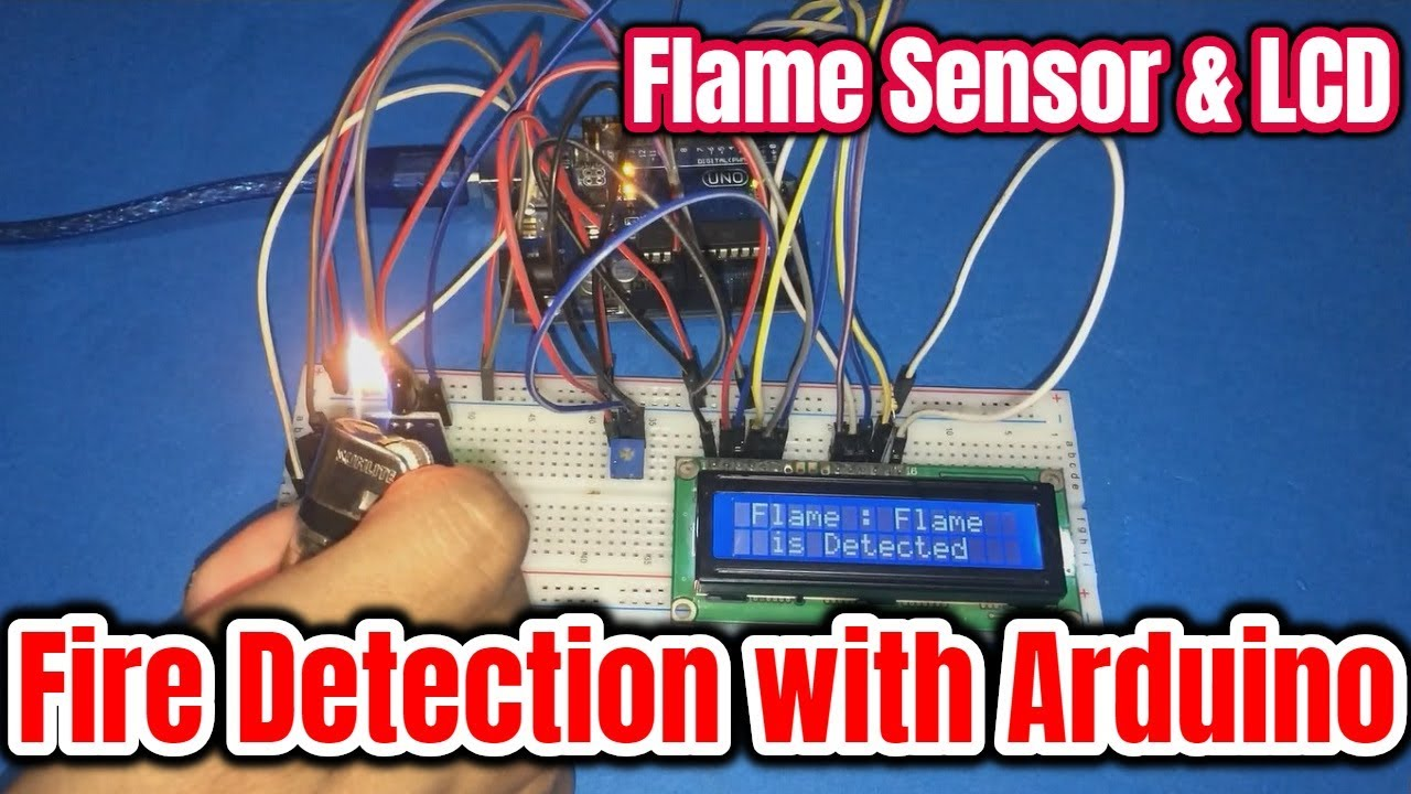How To Make Fire Alarm Using Flame Sensor With Arduino Youtube Flames Circuit Diagram