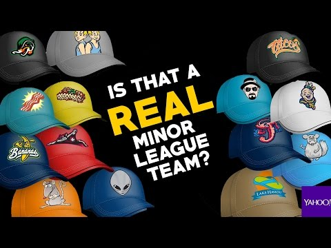 Are these real or fake minor league teams?