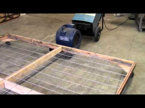 Carpet Cleaning Business How To Build A Drying Rack Youtube