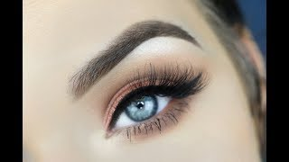 Karity Cosmetics Just Peachy Palette | Eye Makeup Tutorial