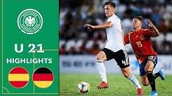 Spanien - Deutschland 1:1 | Highlights | U 21 Testspiel