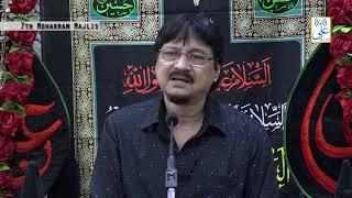 7th Moharram Majlis   Maulana Abid Bilgrami   Khoja Masjid   ALI TV