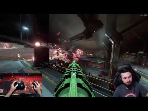 Doom Eternal Motion Sickness Inducing Game play |