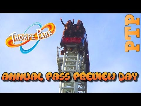 Thorpe Park 2019 Annual Pass Preview Day