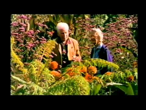Great Dixter: Christopher Lloyd shows round Rosemary Verey.
