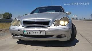 Mercedes W203, Заменил Амортизаторы, оригинал Mercedes, сайлентблок и серьги ®️
