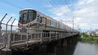 試6780M 323系LS02編成 高槻~摂津富田