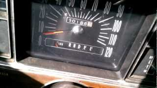 1969 Buick riviera 0-60