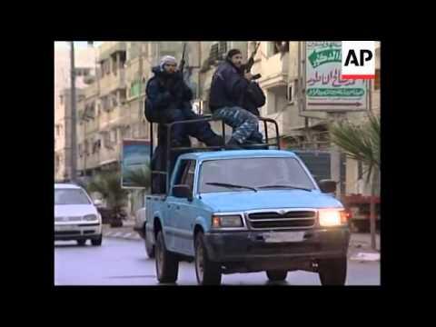 Hamas and Fatah declare ceasefire,  security in Gaza, raid at Karni crossing