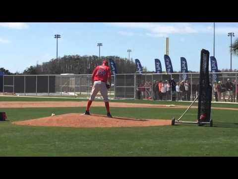 David Price Throwing Live BP