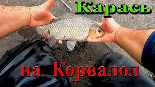 Рыбалка на Карася Выехал с Женой на рыбалку и она меня ОБЛОВИЛА