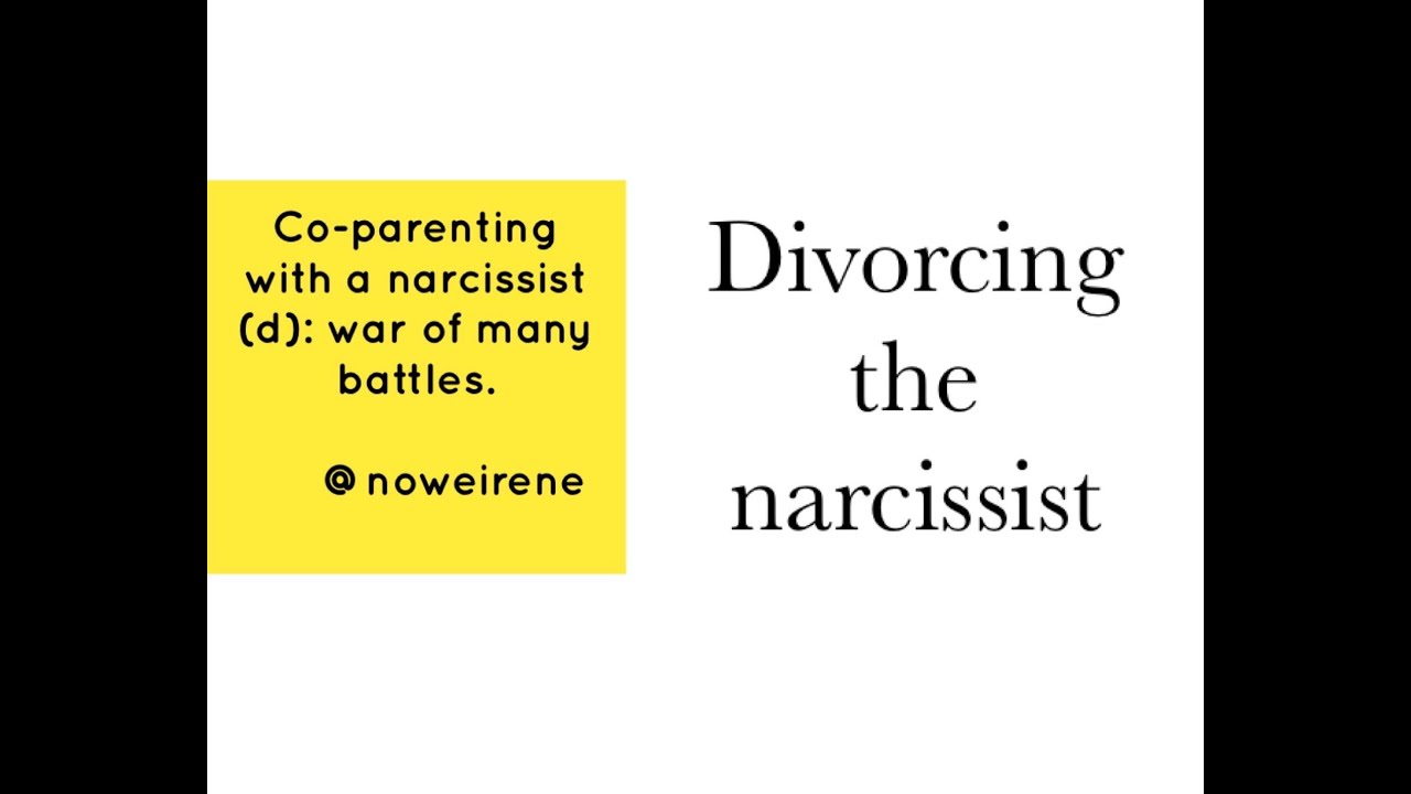 Divorcing the covert Narcissist